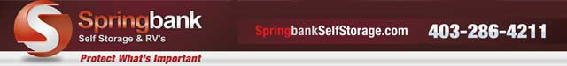 Springbank Storage